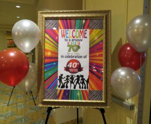 40th Anniversary with a 70's Theme