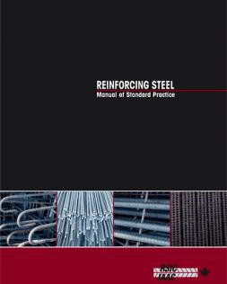 Reinforcing Steel Manual of Standard Practice